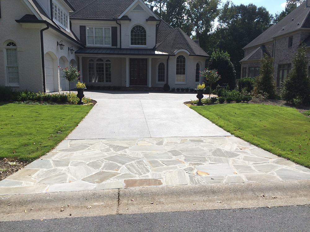 Driveways hemma concrete for Base for concrete driveway